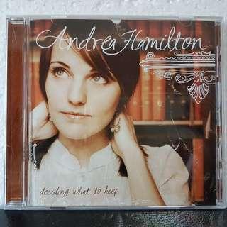 CD (Sealed) - Andrea Hamilton - Deciding What To Keep