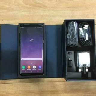 Samsung note 8 like new SME warranty Full Set