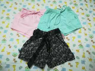 Bundle Shorts 3 for 200