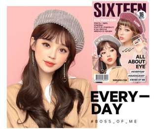 READY STOCKS | 16brand Sixteen Eye Magazine Eyeshadow #1 Everyday