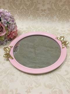 Ribbon Mirror Tray