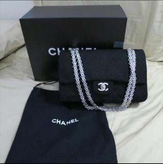 Authentic Chanel Double Flap Quilted Bag