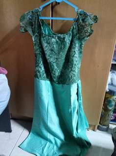 dress variasi brukat
