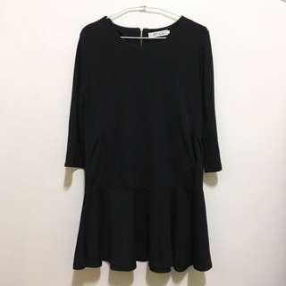 🚚 《二手》女洋裝黑裙F