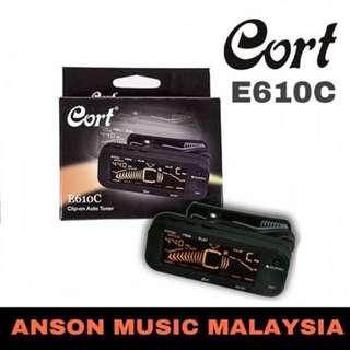 Cort E610C Clip-on Auto Tuner