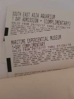 SEA & Maritime museum tickets
