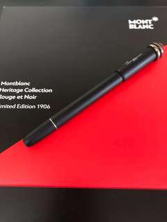 Montblanc Heritage Collection Rouge et Noir