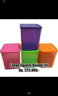 Tupperware Large Square Round (4)