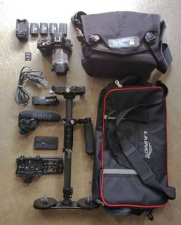 Sony A7 [Rental] with Complete Gear