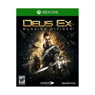 XB1 DEUS EX: MANKIND DIVIDED