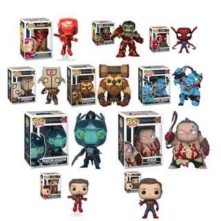 May Funko Pop Preorder Part 1 Ft. Avengers Infinity War Red Chrome Iron Man, Hulk with Hulkbuster, Iron Spiderman Spider man, Iron man unmasked, Iron Spiderman unmasked DOTA 2, Earthshaker, Spirit Breaker, Phantom Assassin, Pudge, Juggernaut