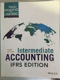 ACC3601: Intermediate Accounting IFRS 3rd Edition