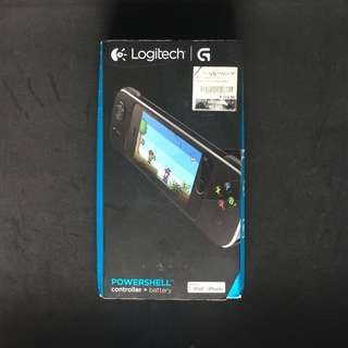 Logitech Powershell Controller + Battery for iphone 5/5c/5s/SE