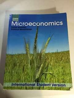 EC2101: Micro-Economics 4th Edition by David Besanko & Ronald Braeutigam