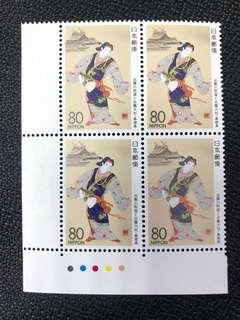 日本郵票島根四方連