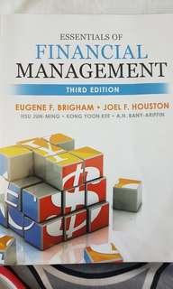 Essentials of Financial Management Third Edition