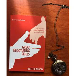 Great Negotiating Skills (Business Solutions) by Bob Etherington
