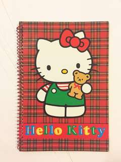 Sanrio vintage Hello Kitty notebook 12x18cm 1992
