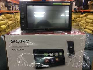 Sony XAV-AX200 dvd radio player.