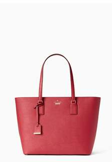 Kate Spade Caneron Street medium harmony shoulder red Red