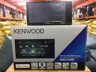 Kenwood DDX616WBT dvd radio player.