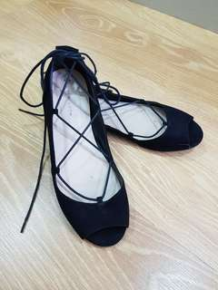 New look Ankle Tie Shoes