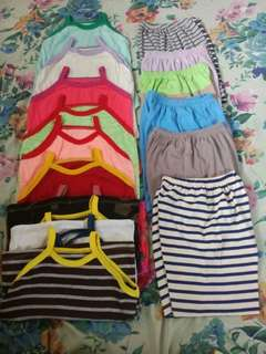 Sando and shorts (assorted & freesized) per  dozen