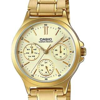 Casio Ladies Watch LTP-V300G-9AUDF
