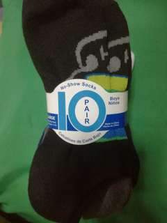 No show socks for.boys 10pairs/ pack