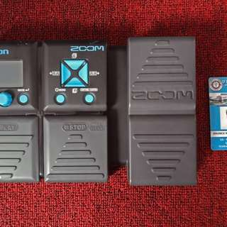 ZOOM G1XON GUITAR MULTI EFFECTS