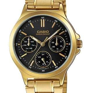 Casio Ladies Watch LTP-V300G-1AUDF