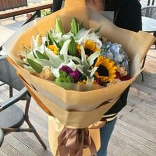Flower Bouquet Hand Bouquet Anniversary Bouquet Proposal Bouquet Birthday Bouquet Graduation Bouquet V509     87