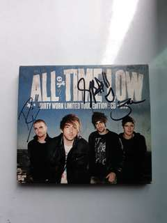 Dirty Work by All Time Low (Signed!)