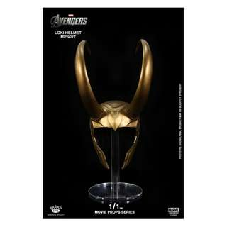 King Arts 1:1 Scale Loki Helmet Movie Props Series MPS027 The Avengers