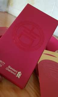 BN 6 pads Standard Chartered Red packet