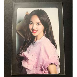 Twice Nayeon Japan Debut Official Photocard