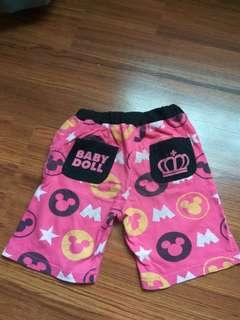 Celana cewe  Mickey merk Babydoll