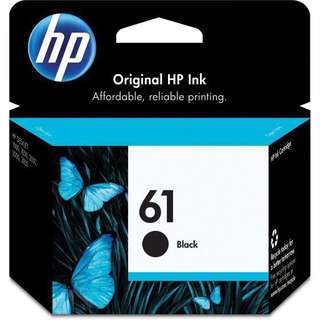 HP 61 Cartridge Black Original