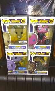 (ON HAND) Avengers Infinity War Marvel Funko Pop Bundle