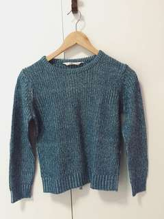 Knitted Crop Top Pull Over