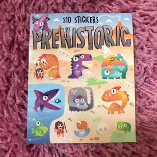 210 Mini Stickers <Prehistoric>