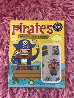 300 Mini Stickers <Pirates>
