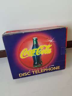 Vintage coke telephone