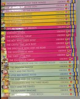 25 books Usborne First Reading