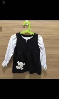 Pirate costume for girl