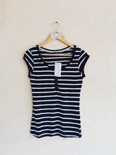 Terranova Stripes Basic Top