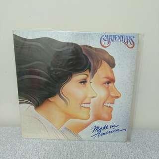 81 年 Carpenters 最後一隻 絕版lp黑膠唱片 美國版