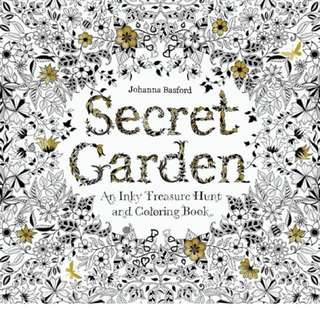 Secret Garden Johanna Basford adult colouring book