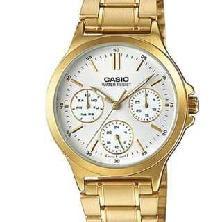 Casio Ladies Watch LTP-V300G-7AUDF