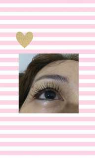 Eyelash Extension by @glamolashesid